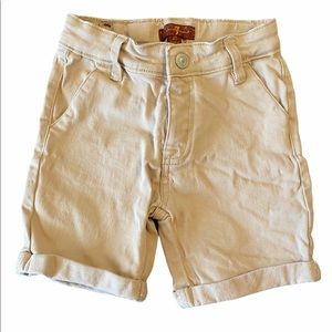 7 For all Mankind Twill Shorts